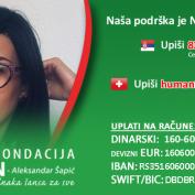 Akcija solidarnosti za Nevenu Stanojević